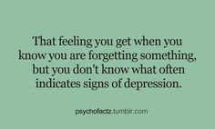 It does ?? Then I must be depressed all the time !! Well I sort of am ... Except with my friends of course ...