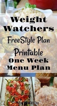 Print our Weight Watchers FreeStyle Plan One Week Menu Plan to help you get off to a great start on the updated Weight Watchers program using SmartPoints and adding more zero point foods to your list! - My WordPress Website Weight Watchers Tipps, Weight Watchers Program, Weight Watchers Meal Plans, Weight Watchers Smart Points, Weight Watcher Dinners, Diabetic Weight Watchers, Weight Watchers Lunches, Weight Watcher Smoothies, Ww Recipes