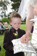 Pageboy  wedding  photography,photographer gippsland
