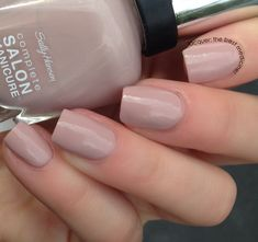 Lacquer: The Best Medicine!: Sally Hansen Complete Salon Manicure Gray-T Escape