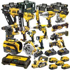 LXT Brushless Kit Hammer Driver Drill/ Impact Driver/ Recipro Saw/ Circ Saw /Grinder Flashlight Dewalt Power Tools, Makita Tools, Dewalt Battery Tools, Kreg Tools, Woodworking Tools For Beginners, Cool Tools, Diy Tools, Dewalt Tough System, Garage Atelier