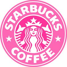 Pink Starbucks Sign