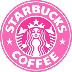 Pink Starbucks Sign