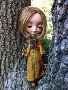 My Sweet Joey by Love Peace Blythe (New job! Sorry I'm behind...try, via Flickr ~ a Pheisty custom