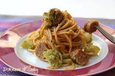Pasta ncasciata con broccoli e salsiccia