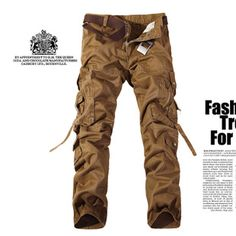 Cheap mens cargo pants, Buy Quality cargo pants directly from China camouflage overalls Suppliers: FAVOCENT 2017 New Cotton Military Camouflage Overalls Men Cargo Pants Overalls Big Yards Men's Multi Pocket Jeans Top qulaity Army Pants, Military Pants, Cargo Pants Men, Mens Cargo, Military Army, Military Style, Military Clothing, Army Style, Combat Pants