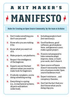 kit maker's manifesto