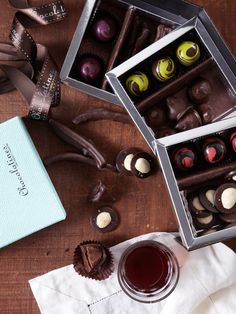 Chocolatines - Chocolates for Wine