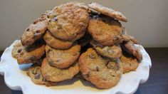 peanut butter banana and chocolate chip cookies - what could be better?!