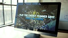 Our serious games experts designed the Energy Planner Game to allow players take control of a virtual city's power plan and find the most efficient energy.