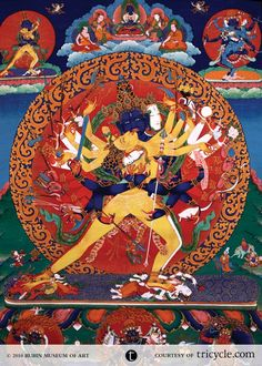 Kalachakra refers to specific tantric practices and commentaries that center around the idea of the cycle (chakra) of time (kala), from planetary cycles to the cycles of human breath. His Holiness the 14th Dalai Lama has been instrumental in bringing these teachings to the West. As a deity, Kalachakra is an omniscient all-seeing Buddha who is said to be the living manifestation of time itself.