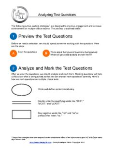 Analyzing Test Questions