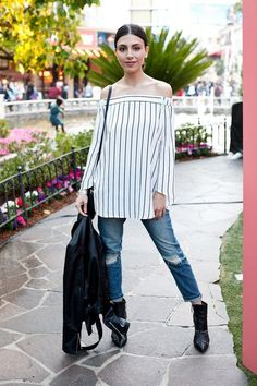 The Standout Looks From Street Style Cinema: She's All That Edition via @Who What Wear