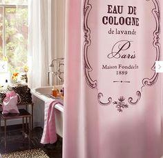 Escape to Paris in your Powder Room
