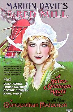 The Red Mill starring Marion Davies vintage movie poster