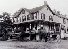 The Family Hotel in West Hurley N.Y. abt. 1910