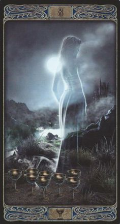 8 of Cups - Ghost Tarot