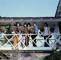 """"""" tatiusflame: """"The Rolling Stones in Laurel Canyon, Calif., 1969 """" At Stephen Stills' house, photos by Thomas Monaster """" Rock N Roll, The Roling Stones, Stephen Stills, Los Rolling Stones, Moves Like Jagger, Stone World, Theatre Problems, Laurel Canyon, Music Artwork"""