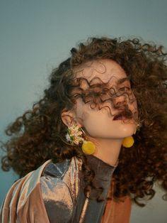 Accessories   Hair curls   Jewellery   Creative Jewelry   Earrings   Curly Locks   Curly hair