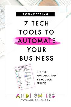 Fed up with all the time and energy involved with managing your business finances and wish you could just automate it? I'm sharing my 7 favorite tech tools for managing and automating your business finances. Small Business Resources, Business Advice, Business Planning, Strategy Business, Business Cards, Business Software, Business Supplies, Small Business Marketing, Online Business