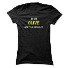 Team OLIVE Lifetime member - #cool tshirt #sweatshirt and leggings. BUY NOW => https://www.sunfrog.com/Names/Team-OLIVE-Lifetime-member-xaofe-Ladies.html?68278