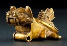 Gold Jaguar, Tayrona Culture, circa 900-1200 A.D. Santa Marta, Colombia