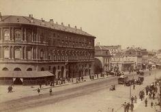 Warszawa – Hotel Europejski i Krakowskie Przedmieście 1870