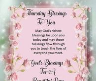 God's blessings for a beautiful day - Amerikanische Geschichte Happy Thursday Morning, Happy Thursday Quotes, Good Morning Wednesday, Good Morning Prayer, Thankful Thursday, Morning Blessings, Good Morning Messages, Morning Prayers, Morning Wish