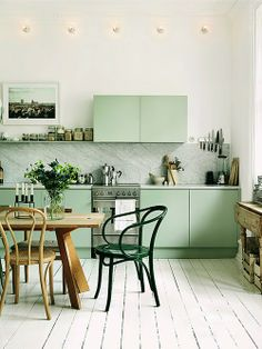 of paper and things: inspiration board | mint green