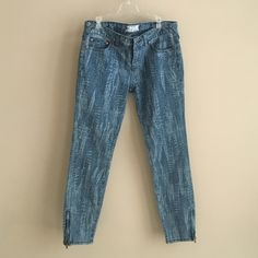 """Free people jeans Inseam 26"""" size 27 jeans perfect condition Free People Jeans Skinny"""