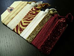Florida State Seminoles / San Francisco 49ers / King's College Monarchs / Seton Hill Griffins Hair Ties ... 7ct.
