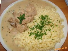 Czech Recipes, Grains, Chicken, Meat, Baking, Food, Recipes, Rezepte, Bread Making