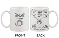 How To Make Brownie Mug