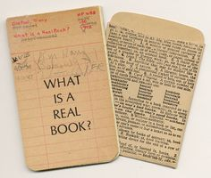 What is a real book? by Tracy Doreen Dietzel, 1992