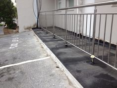 Thermoflex torch on waterproofing installed at a apartment block in Sea Point.
