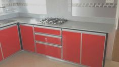New aluminium kitchen furniture contact on