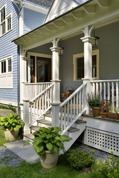 Porch Steps Design Ideas, Pictures, Remodel, and Decor - page 11