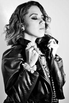 Diseñadora de moda Alma Rodríguez