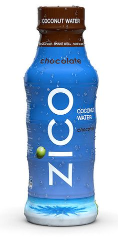 Zico Chocolate Coconut Water the only decently tasting one I've found! It's chocolate... Can't argue with that!