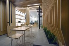Juice Served Right here – Studio City by A-INDUSTRIAL, Los Angeles – California , http://www.interiordesign-world.com/juice-served-right-here-studio-city-by-a-industrial-los-angeles-california/