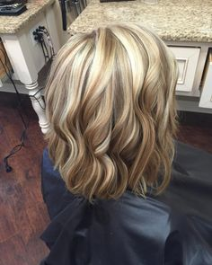 """""""Dimensional blonde! Great way to kick off my last work day of the week…"""