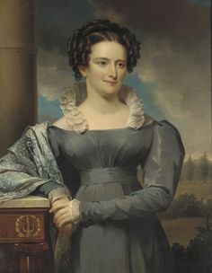 Jacob Eichholtz (American Painter, 1776-1842) Mrs. John Frederick Lewis 1827