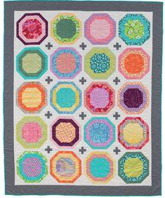Super simple row quilt: