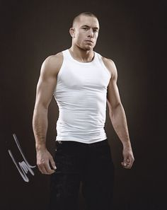 """Georges """"Rush"""" St-Pierre, also known as GSP, is a Canadian professional mixed martial artist and UFC world champion who holds black belts in both Kyokushin karate and Brazilian Jiu Jitsu. Taekwondo, Gsp Ufc, George Saint Pierre, Mma, Photo Pa, Kyokushin Karate, Poster Boys, Ufc Fighters, Brazilian Jiu Jitsu"""