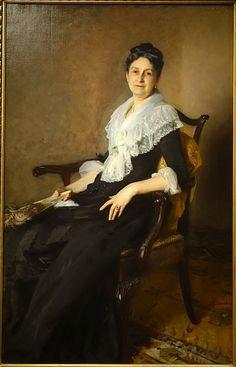 "John Singer Sargent: ""Elizabeth Allen Marquand"", 1887, oil on canvas, Current location: Princeton University Art Museum."