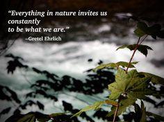 • Gretel Ehrlich