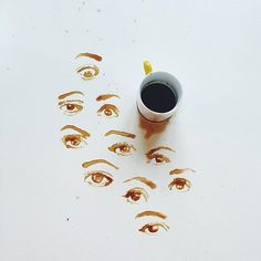 Don't cry over spilled coffee – no tears in sight here!