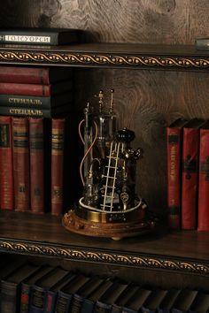 Steampunk Desk, Steampunk Fashion, I Really Want You, Power Wire, Copper And Brass, Glass Domes, Lamp Design, Desk Lamp, Fairy Tales