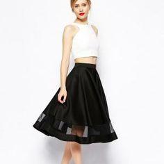 faldas elegantes de moda - Buscar con Google