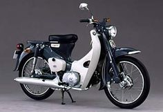 Honda 90 Cub, one of the best selling motorcycles of all time.
